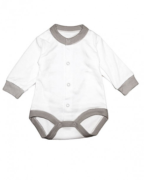 Фото Белое боди для новорожденных, Baby Boom