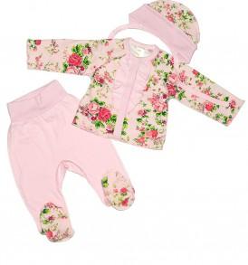 Комплект для новорожденных Розомания купить