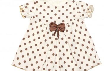 Летнее платье для новорожденных девочек