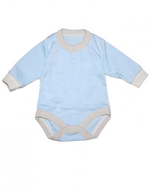 Фото Голубой боди для мальчиков, Baby Boom