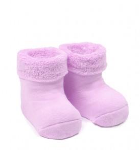 Носки махровые сиреневые