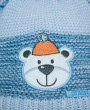 Фото Шапка с шарфом для новорожденных, Grans, Польша. Размер 1-3 месяца.