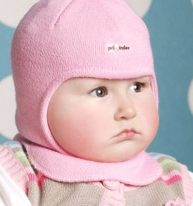 Фото Шапка-шлем на подкладке Prikinder, 30% шерсть. Размер 48-50