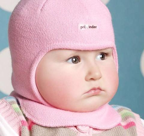 Фото Шапка-шлем на подкладке Prikinder, 30% шерсть. Размер 46-48