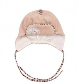 Фото Велюровая шапка на подкладке  WOWA, размер 38-44, Польша