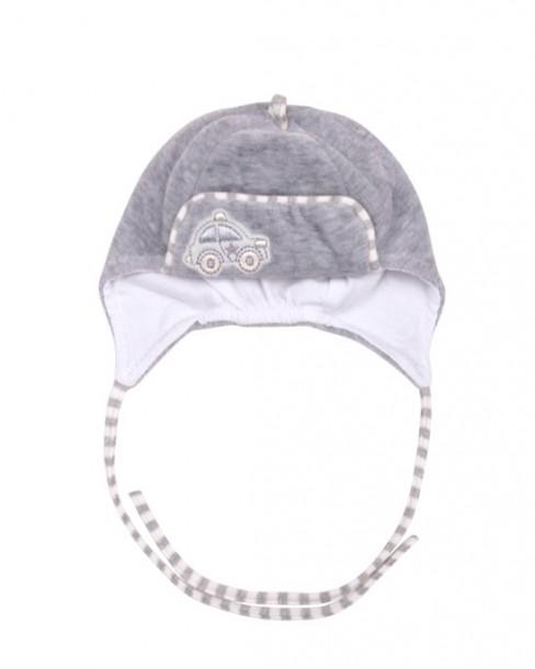 Фото Велюровая шапка на подкладке  WOWA, размер 36-44