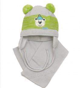 Зимняя шапочка от польской фирмы Гранс на подкладке