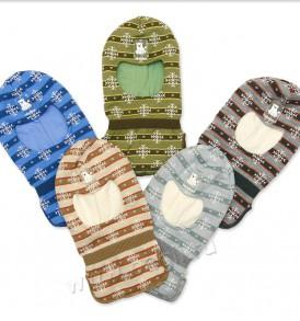 Фото Шапка-шлем на подкладке, Prikinder. Размер 46-48, 6-10 месяцев