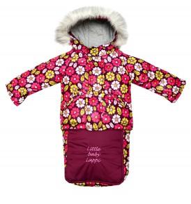Зимний комплект 3в1 для новорожденных девочек