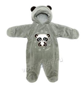 Фото Комбинезон утепленный Панда мох. TM Baby