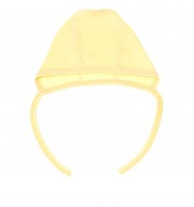 Фото Чепчик для новорожденных, желтый, размер 40 (3-6 мес.). Алёна.
