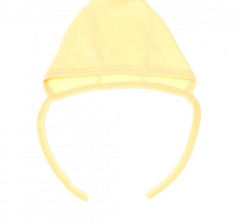 Фото Чепчик для новорожденных, желтый. Алёна