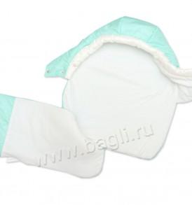 Фото Зимний комплект Арко бирюзовый: 4 предмета с одеялом