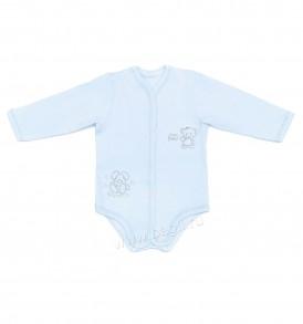 Недорогое боди для новорожденных голубого цвета
