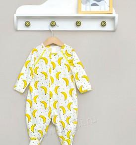 Комбинезон с рисунком бананов Baby Boom