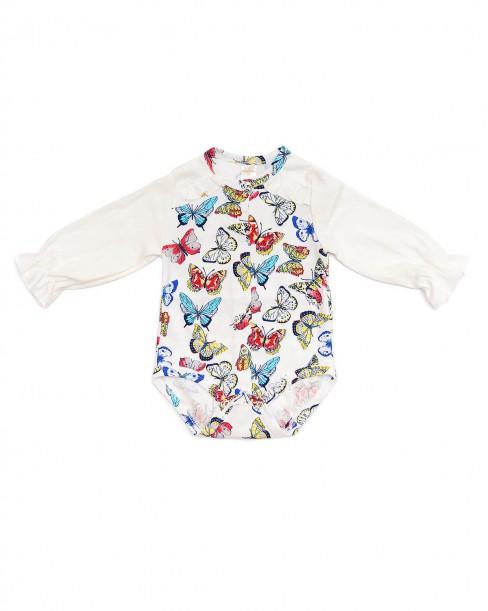 Боди для новорожденных Бабочки