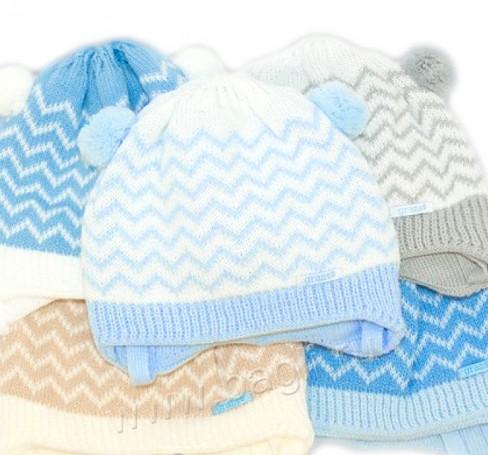 Фото Зимняя шапка с шарфиком Grans Польша