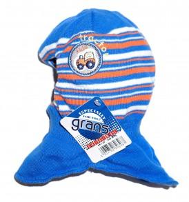 Фото Шапка-шлем на подкладке, Grans. Размер 42-44