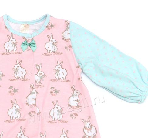 Фото Комбинезон для девочек Кролики, Baby Boom