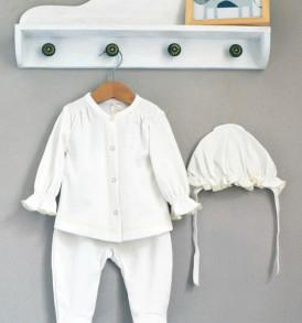 Комплект на выписку для новорожденных девочек Белоснежка