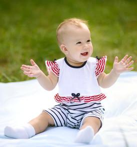 Фото Летний песочник для девочки Морской. Алиса