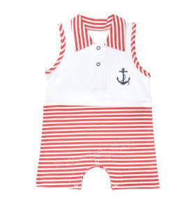Летний песочник для мальчика в морской тематике