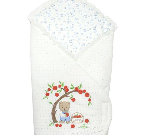 Фото Конверт для новорожденных Яблочный Садик, Осьминожка