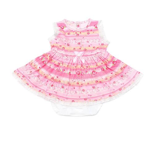 Фото Летний комплект для девочки Мадмуазель, розовый. Алиса