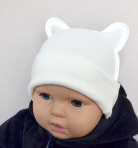Фото Шапочка с ушками для новорожденных, Baby Boom