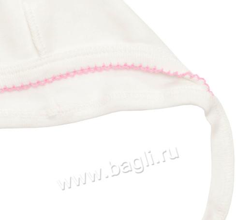 Фото Нарядный чепчик для новорожденных девочек, Милуша