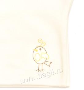 Фото Забавная шапочка с ушками для новорожденных, Милуша