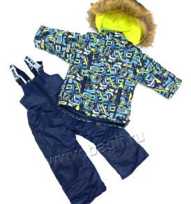 Фото Зимний комплект для мальчика, цветной. Lapland