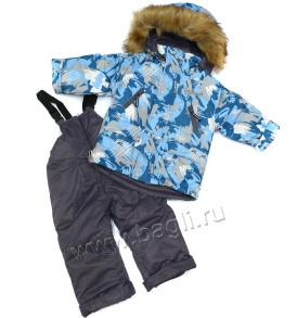 Фото: зимний комплект для мальчика Lapland на Bagli.ru
