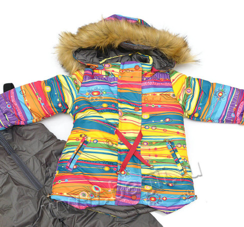 Фото Зимний детский комплект Радуга, Lapland