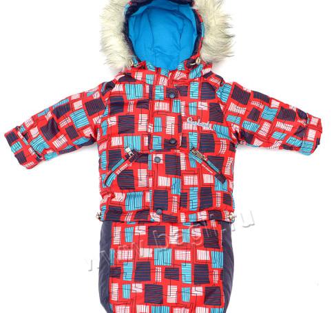 Фото Зимний комплект 3в1 Антошка: конверт, куртка, полукомбинезон. Lapland