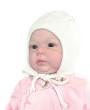 Фото Шапка на изософте для новорожденных, белая. TuTu, Польша