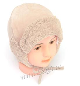 Фото: Коричневая шапка зимняя на подкладке MirMar - купить на bagli.ru