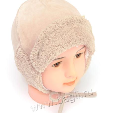 Фото Тёплая шапка MirMar, коричневая. Польша