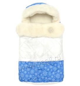 Фото: Меховой конверт для новорожденных Морозко - купить на Bagli.ru