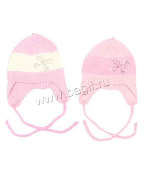 Фото Шерстяная шапка для новорожденных девочек TuTu, Польша
