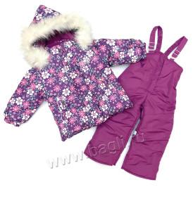 Фото: Зимний комплект для девочки Rusland - купить на Bagli.ru