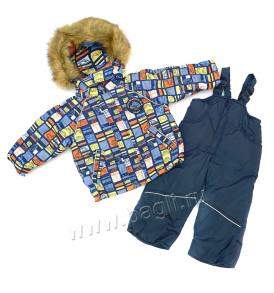Фото: Зимний комплект для мальчика Машинки Rusland - купить на Bagli.ru