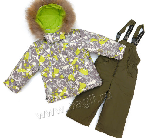 Фото Зимний костюм для мальчика Reks, Полюс-Клуб