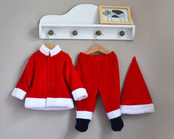 Фото Комплект новогодний Санта, Baby Boom