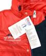 Фото Демисезонная куртка-бомбер на изософте красная. Egorka Беларусь