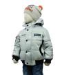 Фото Демисезонная куртка-бомбер на изософте серая. Egorka, Беларусь