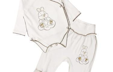 Комплект для новорожденных Зайчик 2 предмета
