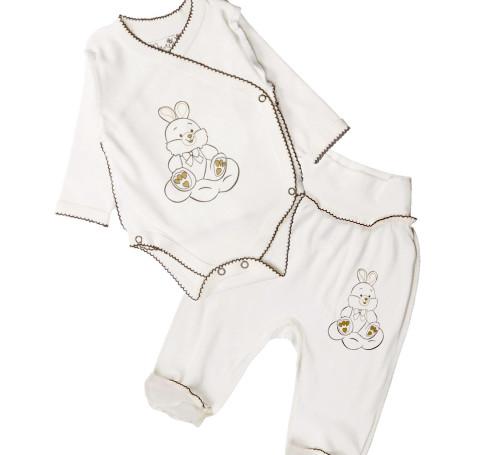 Фото Комплект для новорожденных Зайчик, 2 предмета. Милуша