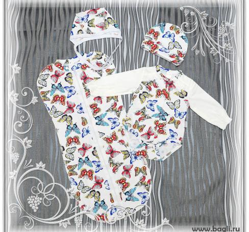 Фото Сет для новорожденных Бабочки Baby Boom