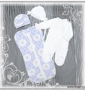 Фото Нарядный сет для новорожденных Винтаж